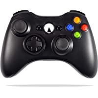 Wireless Controller for Xbox 360, ACGEARY 2.4GHZ Game Controller Gamepad Joystick for Xbox & Slim 360 PC Windows 7, 8, 10 (Black)