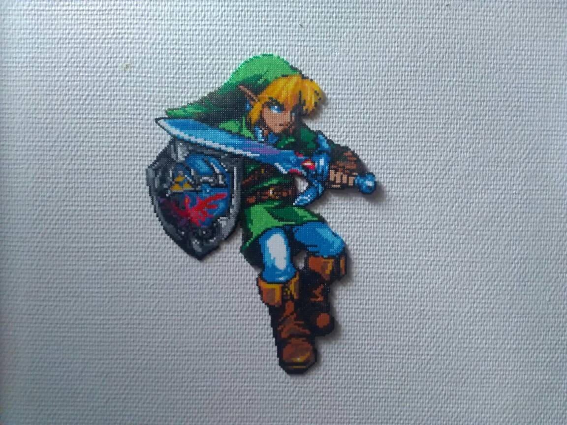 Amazon.com: Sprite Link - The Legend of Zelda - Hama beads ...