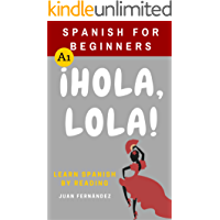 Spanish For Beginners: ¡Hola, Lola! (Spanish Edition) book cover