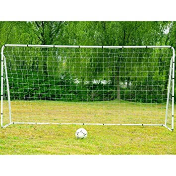 Soccer Goal With Net, FCH 12 X 6 Feet Soccer Goals For Backyard Outdoor  Indoor