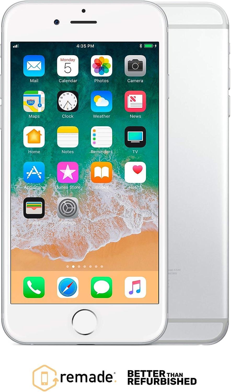 """Apple iPhone 6 64GB Plata 4.7"""" Remade iOS Smartphone Reacondicionado Premium: Amazon.es: Electrónica"""
