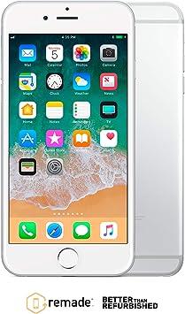 "Apple iPhone 6 64GB Plata 4.7"" Remade iOS Smartphone ..."