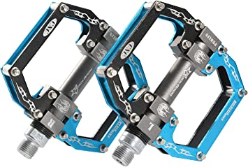 ROCKBROS - Pedales para Bicicleta de montaña con un diseño Ligero ...