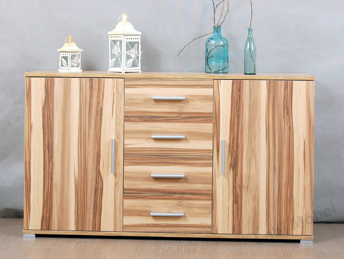 sideboard walnuss amazing ideen kommode fr wohnzimmer with sideboard walnuss trendy free. Black Bedroom Furniture Sets. Home Design Ideas