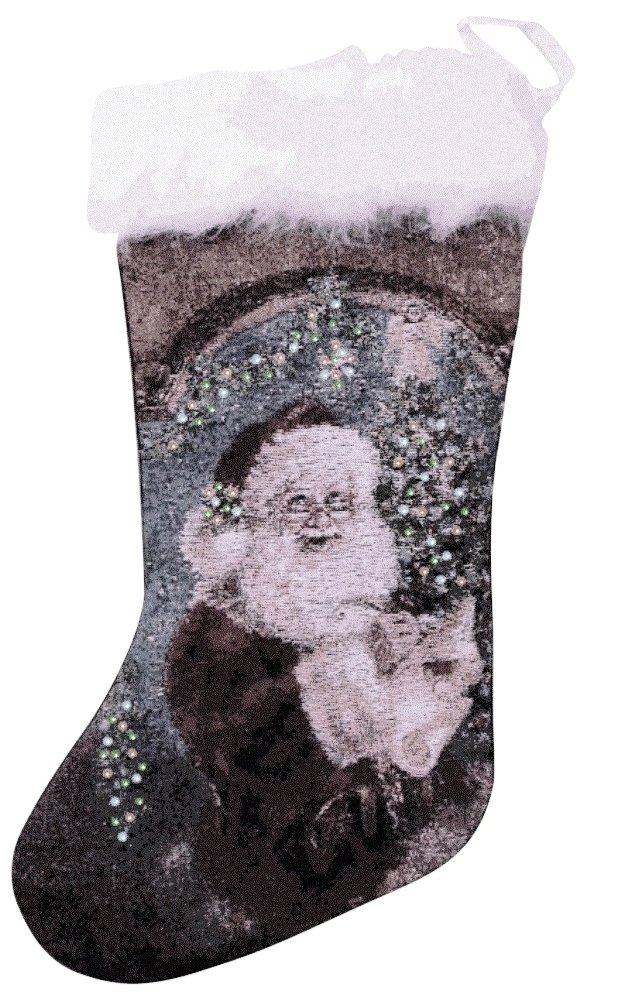 Santa Claus Blinking Stocking
