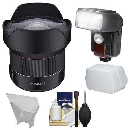 Amazon.com : Rokinon 14mm f/2.8 Autofocus Full Frame Ultra Wide ...