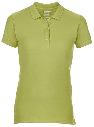 964caa08d23139 Women's Gildan Sport T-shirt With Welt Contoured Collar and Cuffs Kiwi Size  S
