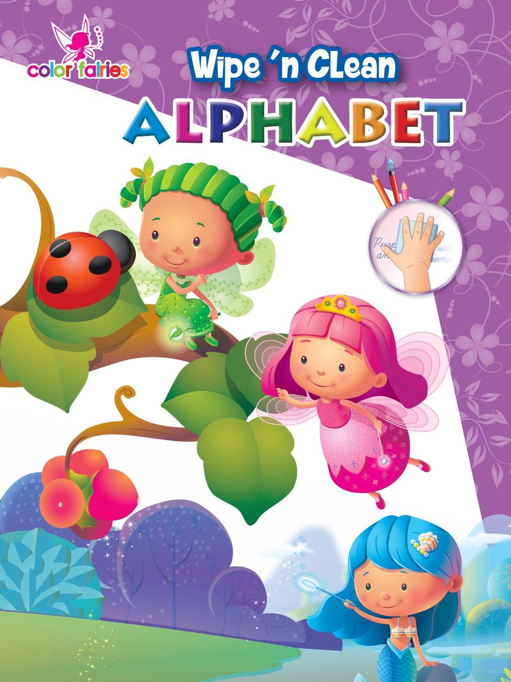 Color Fairies Wipe 'n Clean book: Alphabet pdf epub
