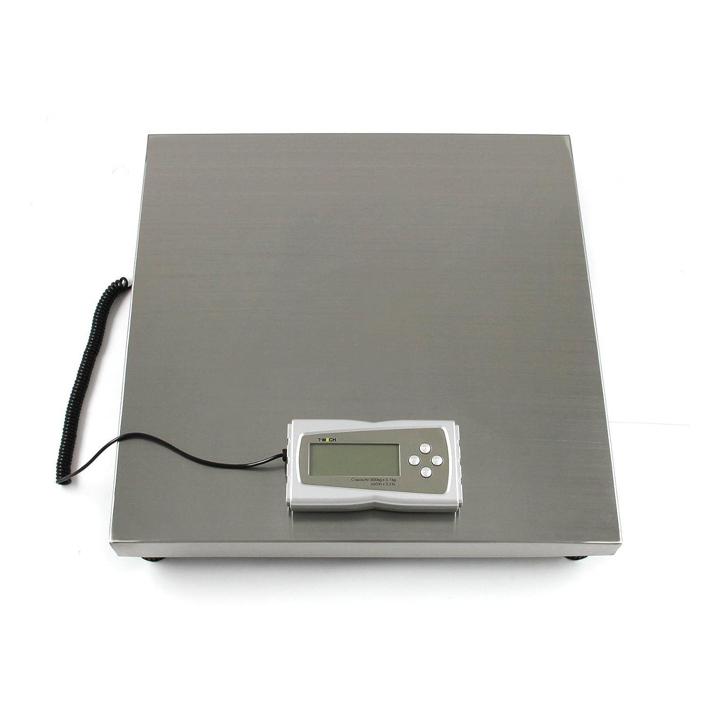 T-Mech - Balanza Electrónica Veterinaria 300kg 50 x 50cm con 4 Funciones: Amazon.es: Juguetes y juegos