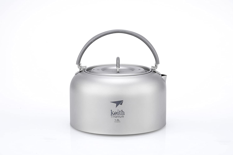 Keithチタンti3901ケトル – 1.0 L B01NA9S2JW