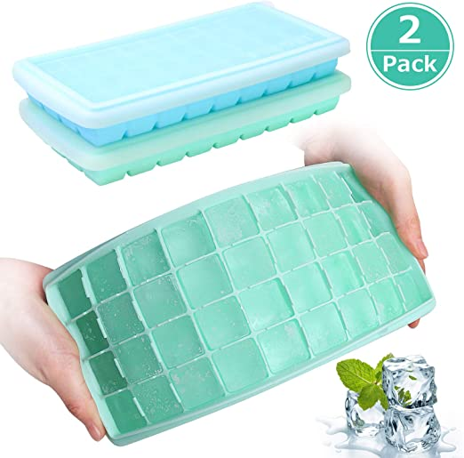 Silicone Ice Cube Tray Mold Freeze Mould fits For Water Bottle Making Mold QK