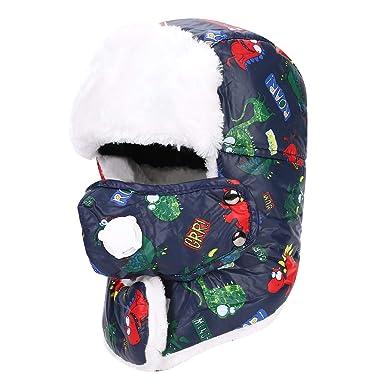 Winter Trooper Trapper Hat Bomber Hat Super Warm Russian Hunting Hat Unisex  Winter Warm Ushanka Plush 783f16324e0b