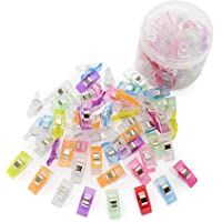 Sewing Clips 45Pcs Quilting Clips for Sew Binding Crafts Paper Work and Hanging Things