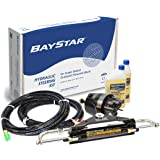Baystar Kit, HK4200A-3, Hydraulic Steering Kit with Compact Cylinder with 20' Tubing