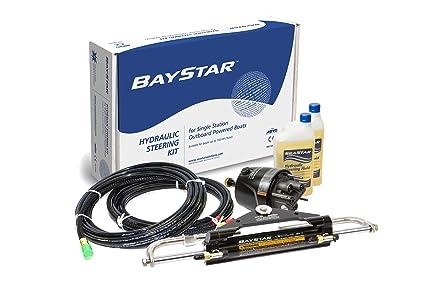 amazon com baystar kit hk4200a 3 hydraulic steering kit with rh amazon com