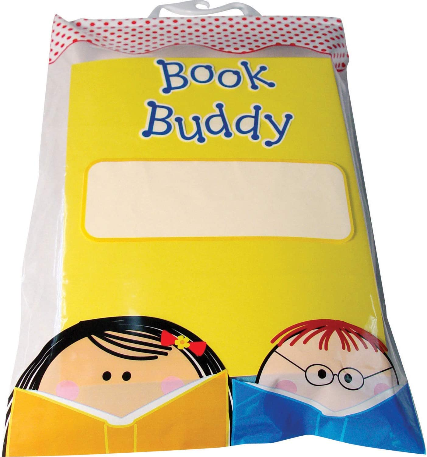 "Creative Teaching Press Book Buddy Bag 11"" x 16"" (Pack of 5) Keep Students Books, Homework, Projects and Other Classroom Materials Organized"