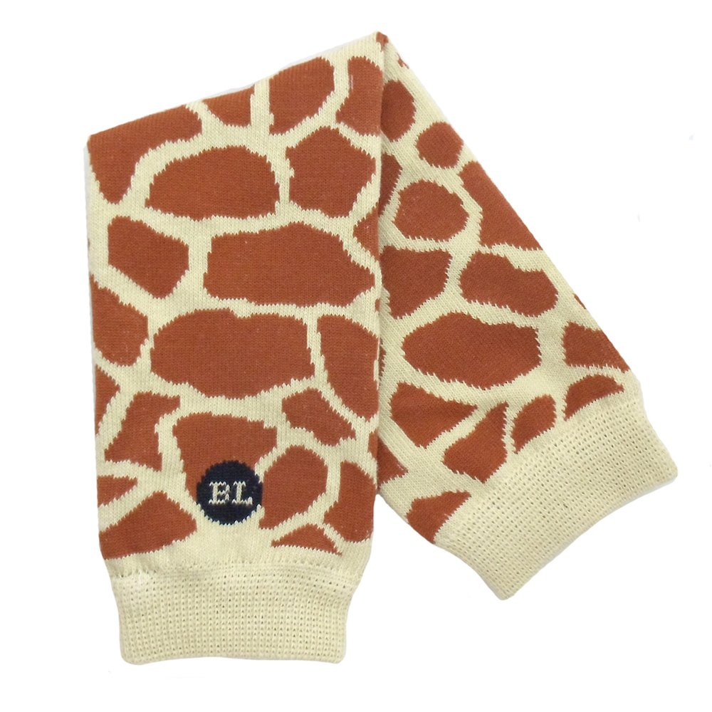 BabyLegs Gentle Giraffe-Leg Warmers, Brown, One Size Fits Most; Up Till 10 Years Old BabyLegs® BL12-1023