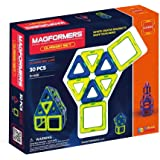 Magformers Classic (30-pieces) Set Magnetic    Building      Blocks, Educational  Magnetic    Tiles Kit , Magnetic    Construction  STEM Toy Set