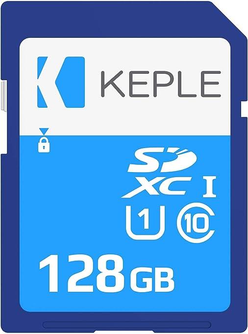 128GB SD Card Class 10 Tarjeta de Memoria Compatible con Nikon D3100, D3300, D3400, D5100, D5300, D5500, D5600, D7100, D7200, D7500, D610, D750, D810, ...