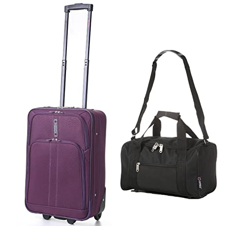 "5 Cities Vuelo unidades – 21 ""/55 cm maleta cabina Equipaje de Mano"