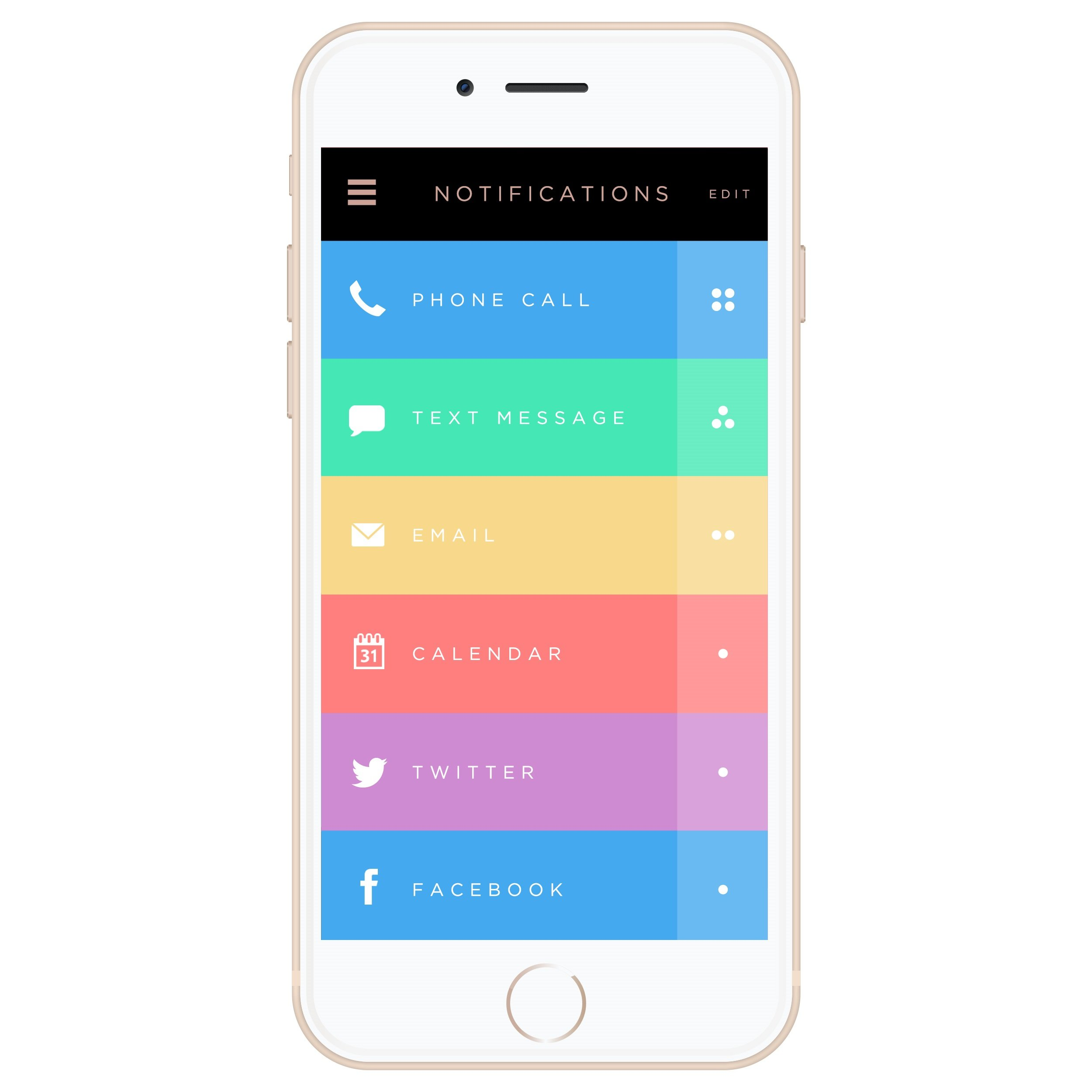 Ringly Luxe - Activity Tracker + Mobile Alerts + Meditation Smart Bracelet by RINGLY (Image #5)