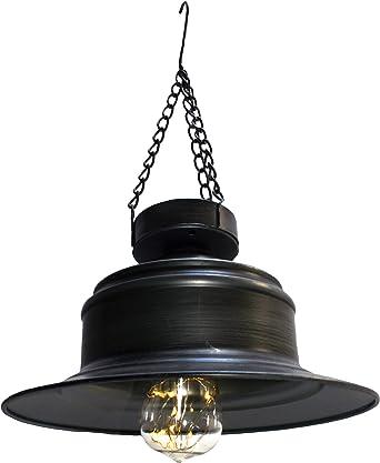 Farol solar LED para jardín, lámpara solar, lámpara de camping ...