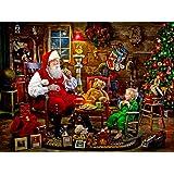 Santa's Visit Jigsaw Puzzle 550 Piece