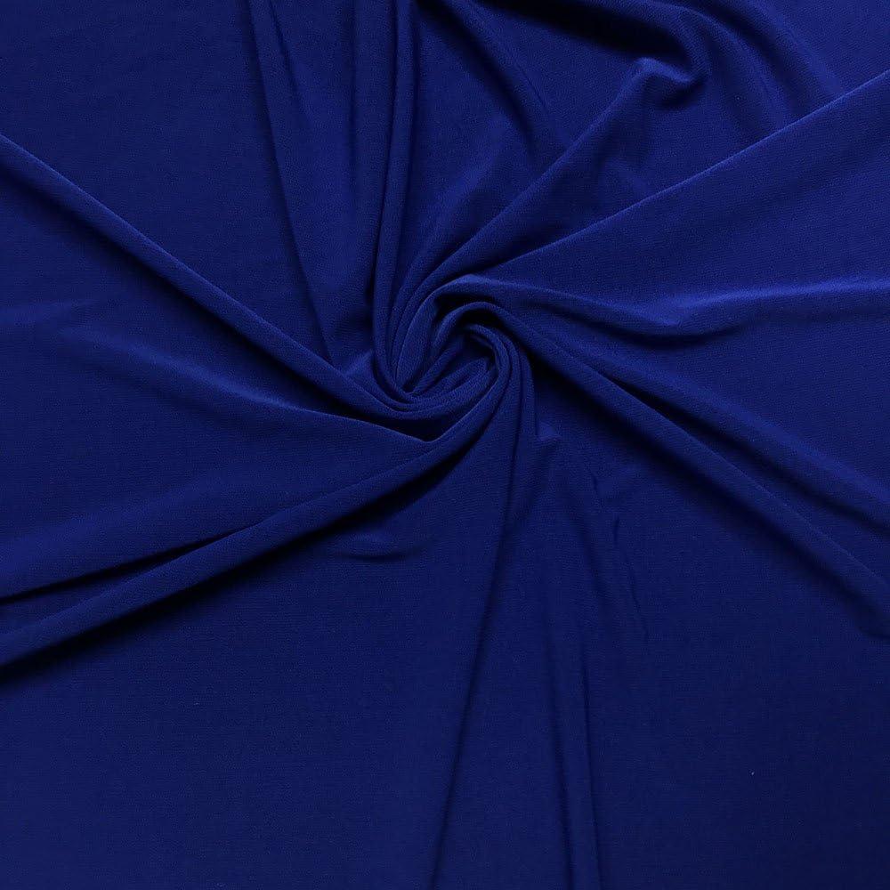 """Blue /& Purple Stretch Lycra Rib Knit 58//60/"""" by YARD Fashion Fabric"""