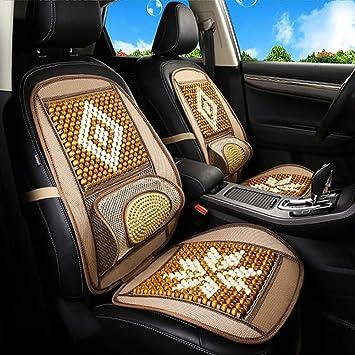 Amazon.com: Feng - Cojín para asiento de coche, con cuentas ...