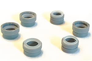 Faucet Aerator Adapter Kit - Six (6) Piece, Male & Female