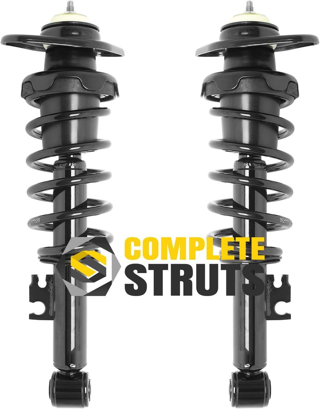 Rear Pair Quick Complete Struts /& Coil Springs for 2002-2008 Mini Cooper