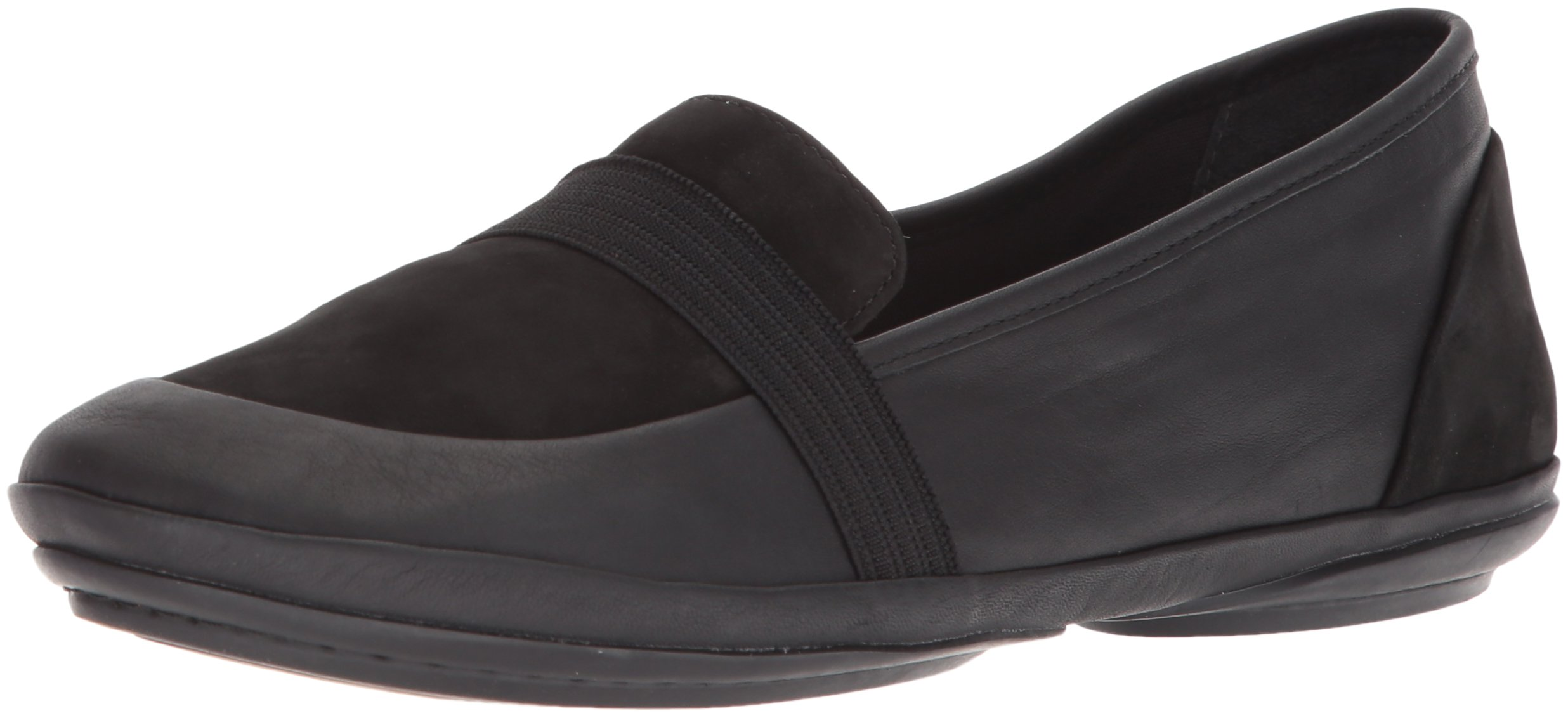 Camper Women's Right Nina K200618 Mary Jane Flat, Black, 37 M EU (7 US)