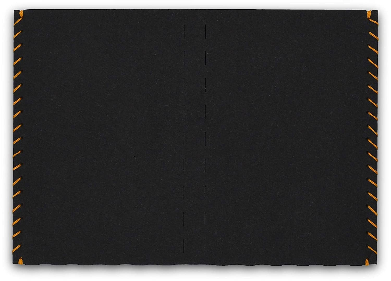 Billetera, Carteras para hombre, billetera-tarjetero – papel, delgado, minimalista, vegano, moderno – color negro – hecho por BERLIN slim