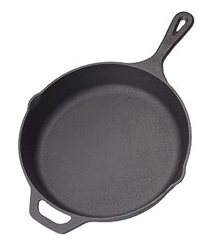 Amazon.com: Cast Iron Skillet Non-Stick Pan (Black, 12\