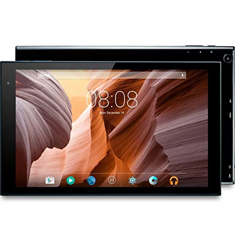 Alldaymall Tablet 10 1 pollici, Octa Core 1,6 GHz, RAM 2GB, HDD da 16GB,  IPS Display, HDMI, Wi-Fi, Nero - 2017 Tutte Nuove