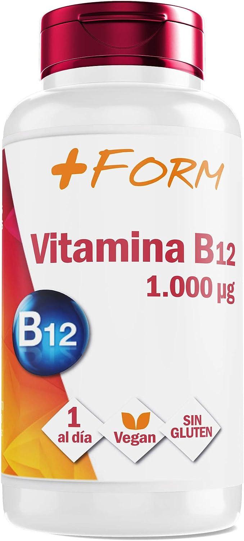 Vitamina B12 1000 mg - Vitaminas y Minerales para la Energía y el bienestar de tu cuerpo – 1 Cápsula al día – Apto para Veganos – Sin Gluten (90 ...