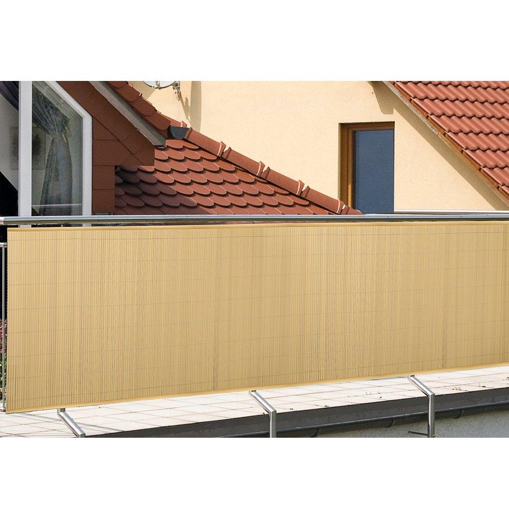 Wis Hengda Sichtschutzmatte Sichtschutzzaun Balkon Zaun Sichtschutz