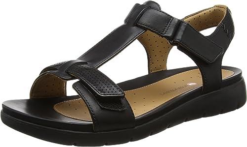 Locura cordura reemplazar  Clarks Women's Un Haywood Wedge Heels Sandals: Amazon.co.uk: Shoes & Bags