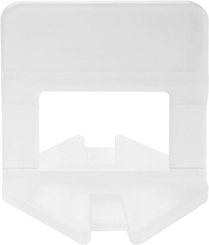 altura de baldosas de 3 a 15 mm 100 unidades accesorios de instalaci/ón Leng/üetas para azulejos ayuda para colocaci/ón de baldosas sistema de nivelaci/ón de baldosas para juntas de 1 mm de ancho