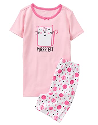7a9df0d28 Amazon.com  Gymboree Girls  2-Piece Pajama Set  Clothing