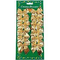 LQZ (TM) 12pc N & # X153; UD Schmetterling, zwei Schlaufen Dekoration Ornament Baum Weihnachtsbaum