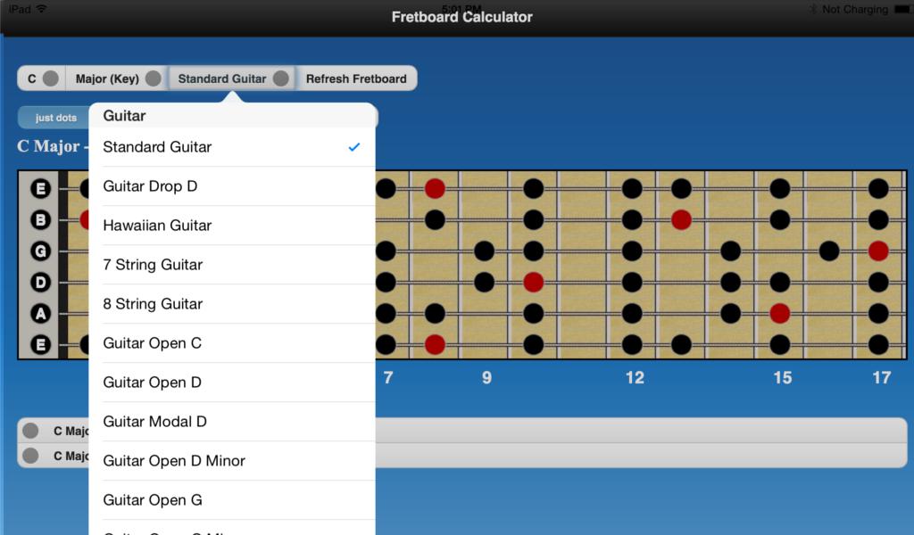 Amazon Fretboard Calculator Appstore For Android