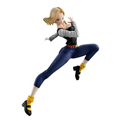 Megahouse Dragon Ball Gals: Android 18 (Version 4) PVC Figure, Multicolor: Toys & Games