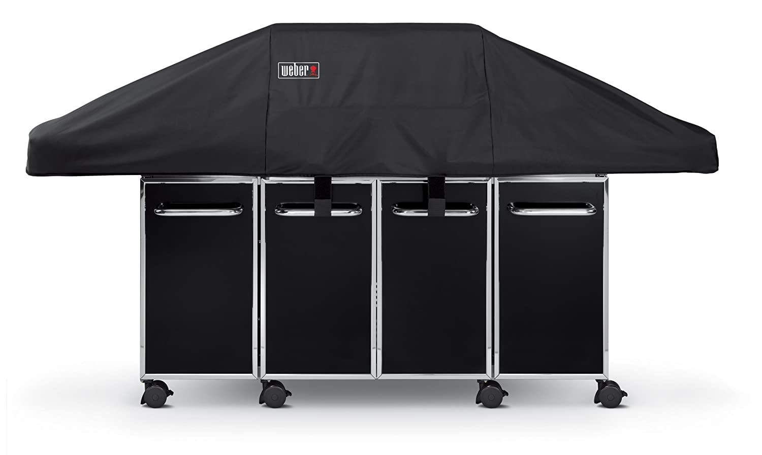 Amazon.com : Weber 7549 Premium Cover, Fits Genesis Grill With Island  Cabinetry : Outdoor Grill Covers : Patio, Lawn U0026 Garden