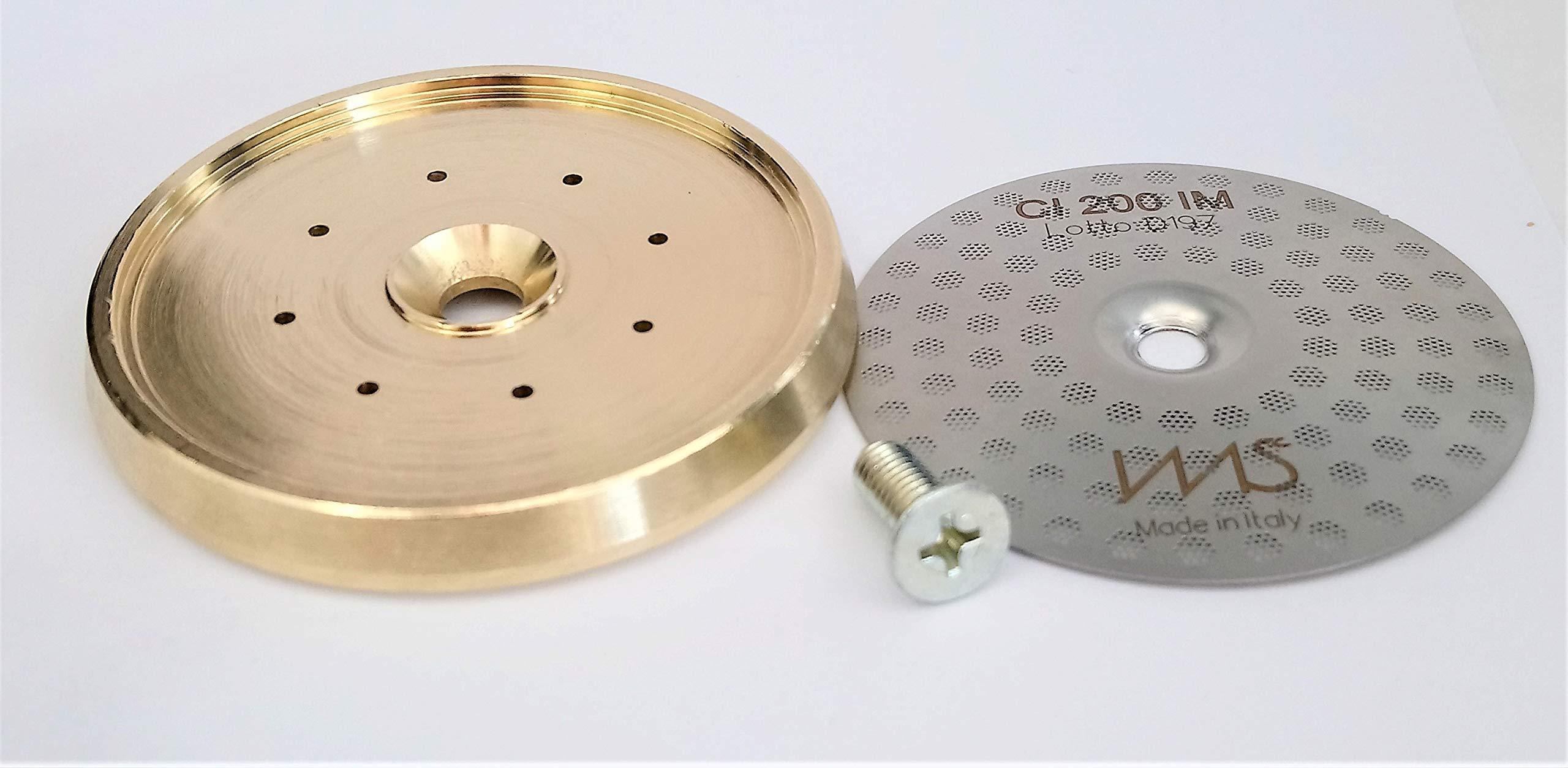 Breville shower screen and inner holder. Custom tune up kit for 58mm Breville BES900XL BES920XL BES980XL. IMS Precision Shower Screen and Brass inner holder by VeryBarista (Image #3)
