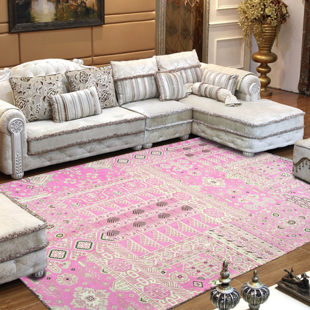 Decorative rugs,Xiandai carpe Sofa Tea table Carpet Living room Bedroom bedside Carpet Tatami mats Carpet Could be washed by water-A 39x59inch(100x150cm)