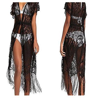 New Ornament Swimwear New Sun Protection Clothing Beach Bikini Shirt Lace Tassel Blouse Female