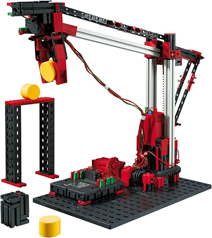 Fischertechnik Automation Robots – Aprende Robótica y Programación con este Divertido Juguete de Construcción de Robots Industriales.: Amazon.es: Juguetes y juegos