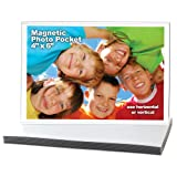 Amazon Price History for:Magtech Magnetic Photo Pocket Frame, White, Holds 4 x 6 Inches Photos, 10 Pack