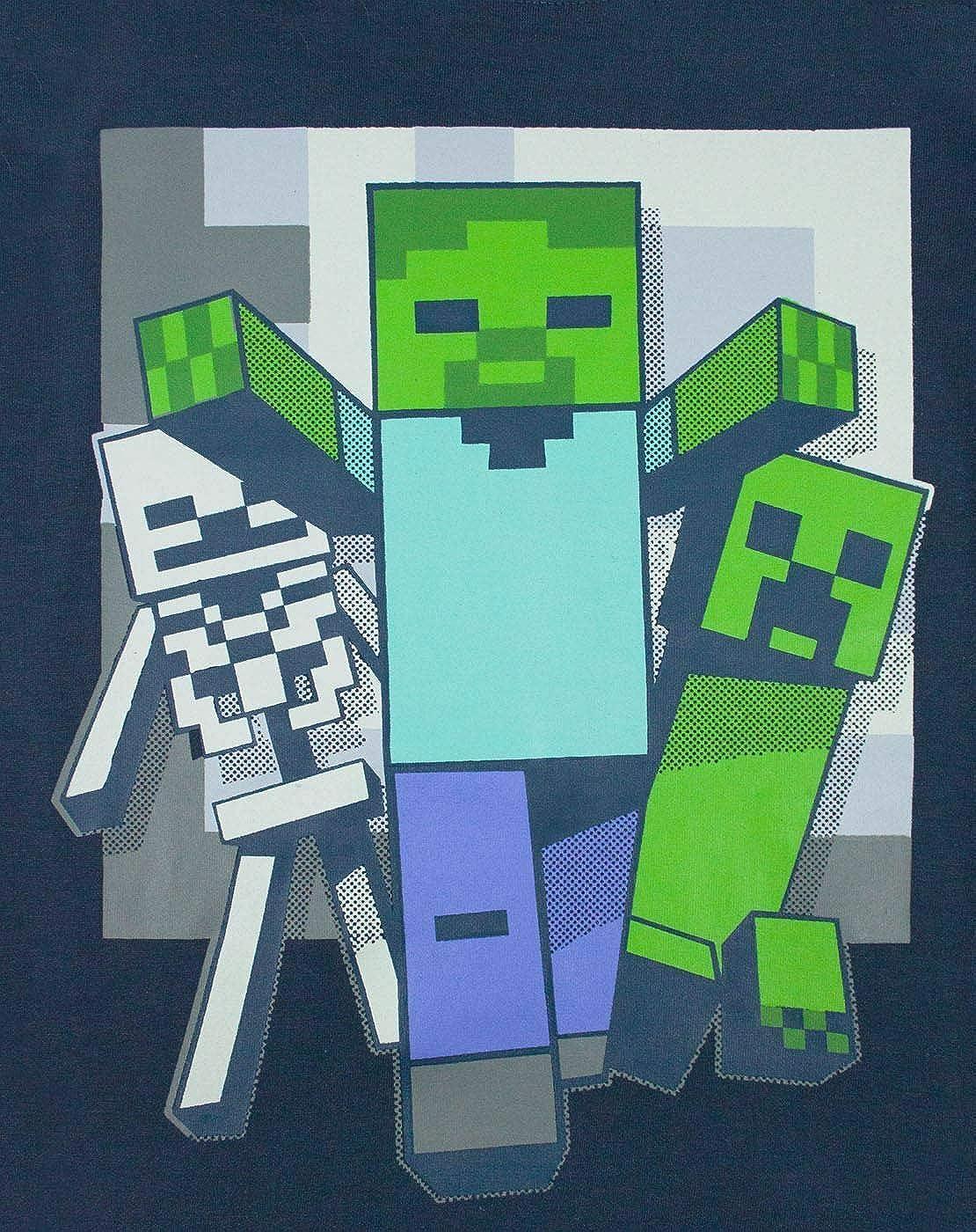 Minecraft Undead Pigiama da ragazzo